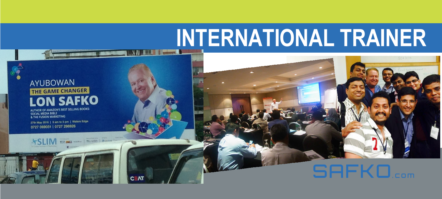 Lon Safko International Speaker
