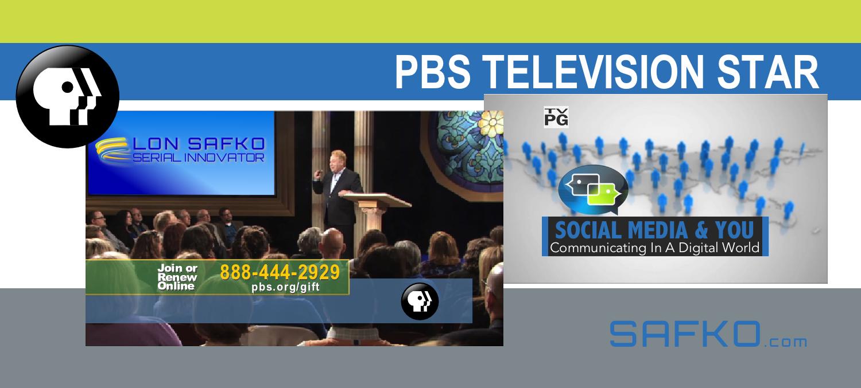 Lon Safko PBS Television Star